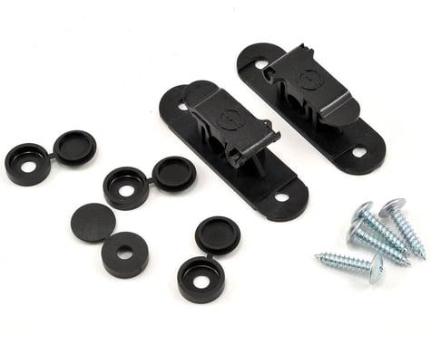 Random Heli 8.0mm Skid Clamp Assembly (Black)