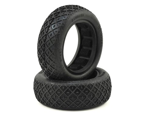 """Raw Speed RC """"Rip Tide"""" 2.2"""" 1/10 2WD Front Buggy Tires (2)"""