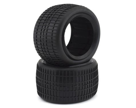 """Raw Speed RC Waffle 2.2"""" 1/10 Rear Buggy Tires (2) (Super Soft)"""