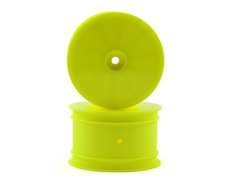 """Raw Speed RC 2.2"""" 1/10 Buggy Rear Wheels (Yellow) (2) (TLR/D216)"""
