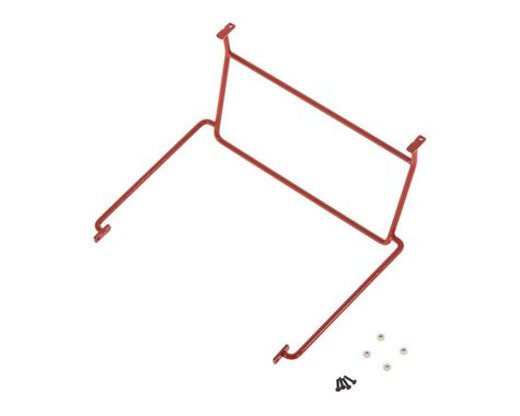 RC4WD Front Window Roll Cage, Red: 1/18 Gelande D90