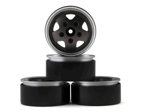 "RC4WD CChand Dome Spoked 1.9"" Classic Beadlock Wheels (Grey) (4)"