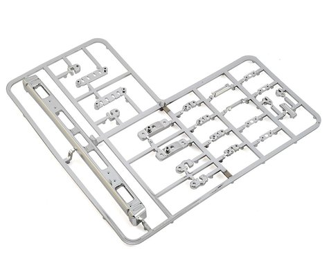 RC4WD Mojave II Bumper/Parts Tree (Chrome)