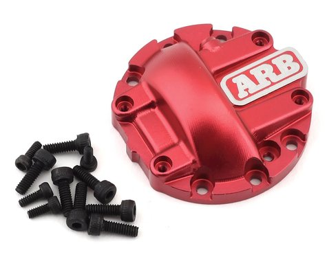 RC4WD ARB Diff Cover, Red: Yota II Axle