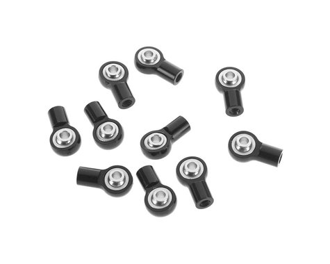 RC4WD M3 Short Straight Aluminum Rod Ends (Black)