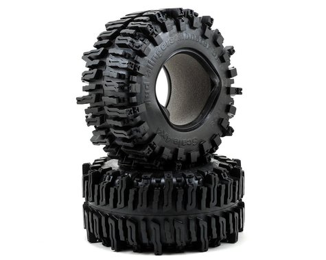 "RC4WD Mud Slingers Monster Size 40 Series 3.8"" Rock Crawler Tires (2) (X4 Compound)"