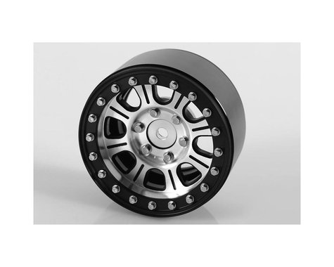 RC4WD Raceline Monster 1.9 Aluminum Beadlock Crawler Wheels (4) (Silver/Black)