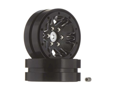 RC4WD Black 1.9 Universal Beadlock Wheel (D1) (2)