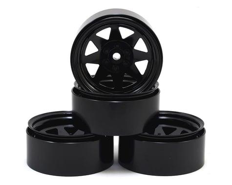 RC4WD 6 Lug Wagon 2.2 Steel Stamped Beadlock Wheels (Black)