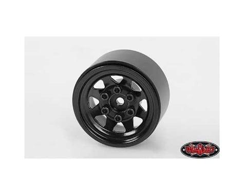 """RC4WD Stamped Steel 1.0"""" Stock Beadlock Wheels (Black) (4)"""