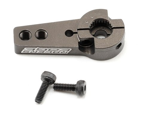 Racers Edge Aluminum Pro Adjustable Single Arm Hitec Servo Horn (Hard Anodized)