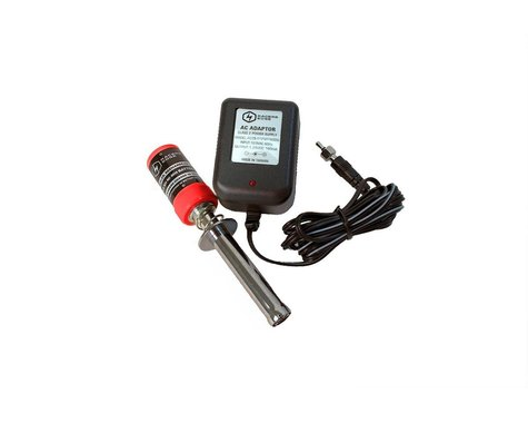 Racers Edge 1800 mAh NiMH Glow Igniter with Charger