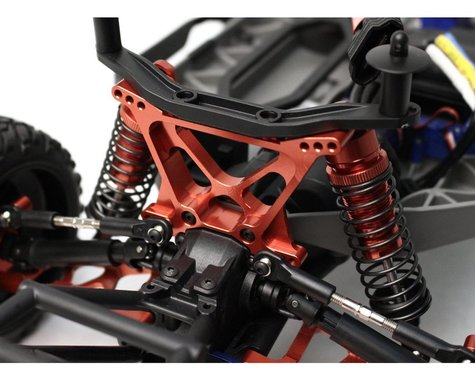 Racers Edge Slash 4WD Aluminum Rear Shock Tower - Red