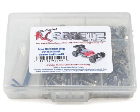 RC Screwz Arrma RC ADX-10 1/10th Race Buggy Stainless Steel Screw Kit