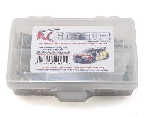 RC Screwz Associated Pro Rally 4wd Stainless Steel Screw Kit