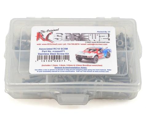 RC Screwz Associated RC10 SC5M Stainless Screw Kit