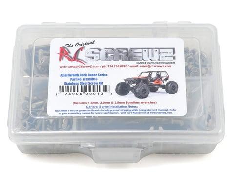 RC Screwz Axial Wraith Rock Racer Stainless Steel Screw Kit