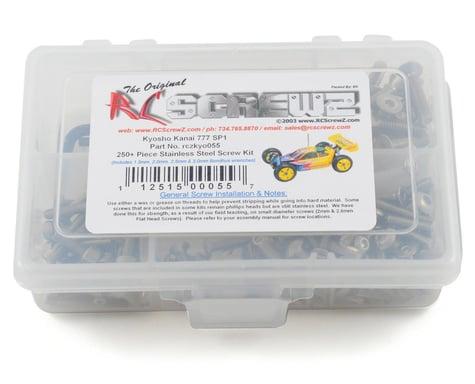 RC Screwz Kyosho Kanai 777 SP1/SP2 Stainless Steel Screw Kit