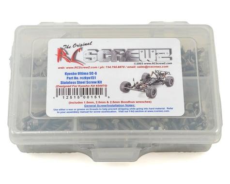 RC Screwz Kyosho Ultima SC6 Stainless Steel Screw Kit