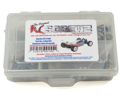 RC Screwz Kyosho Lazer ZX-6 4WD Buggy Stainless Steel Screw Kit