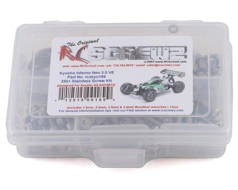 RC Screwz Kyosho Inferno NEO 3.0 VE Stainless Steel Screw Kit