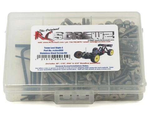 RC Screwz Team Losi 8ight-E Stainless Steel Screw Kit