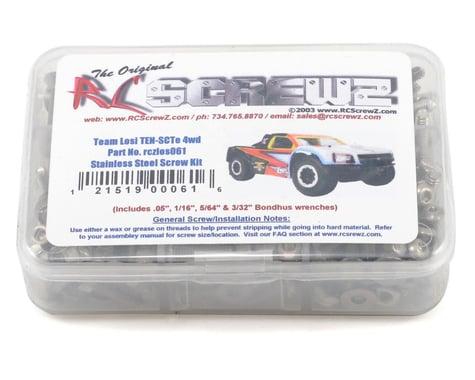 RC Screwz Team Losi TEN-SCTE Stainless Steel Screw Kit