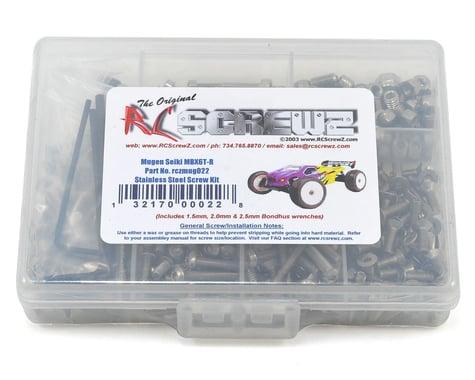RC Screwz Mugen Seiki MBX6T-R Stainless Steel Screw Kit