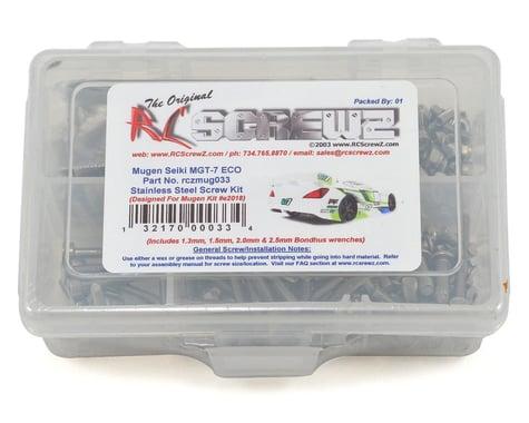 RC Screwz Mugen Seiki MGT7 ECO Stainless Screw Kit