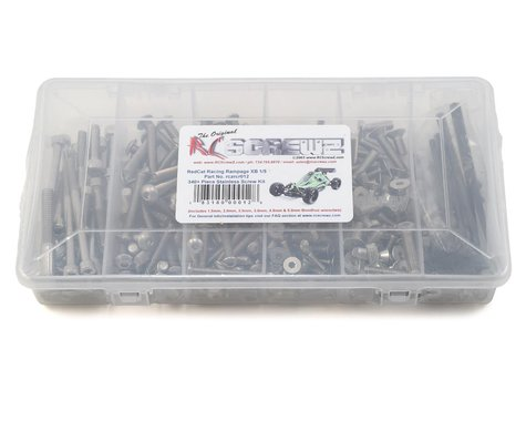 RC Screwz RedCat Racing 1/5th Rampage XB Stainless Steel Screw Kit