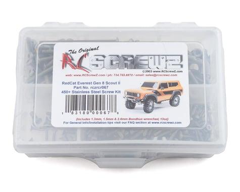 RC Screwz Redcat Racing Gen 8 Scout Stainless Steel Screw Kit