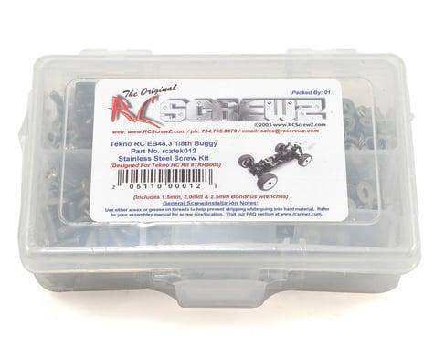 RC Screwz Tekno EB48.3 Buggy Stainless Screw Kit