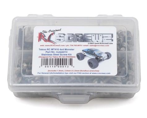 RC Screwz Tekno RC MT410 4x4 Stainless Steel Screw Kit