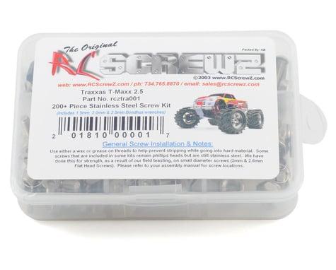 RC Screwz Traxxas T-Maxx 2.5 Stainless Steel Screw Kit