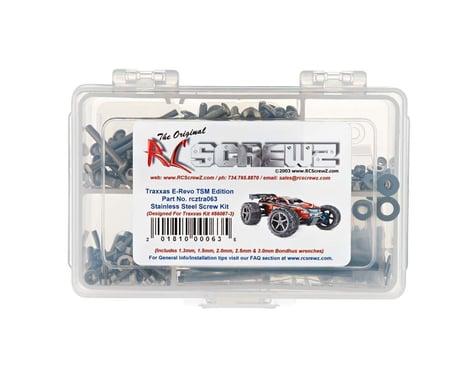 RC Screwz E-Revo TSM Stainless Screw Kit