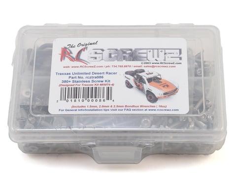 RC Screwz Traxxas Unlimited Desert Racer Stainless Steel Screw Kit