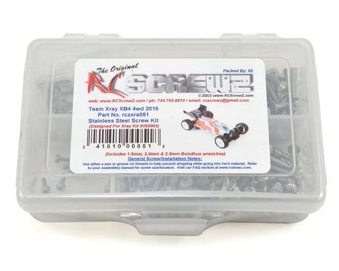 RC Screwz XRAY XB4 4wd 2016 Stainless Screw Kit