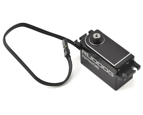 Ruddog RP1206 Low Profile Coreless Servo w/18cm wire (High Voltage)