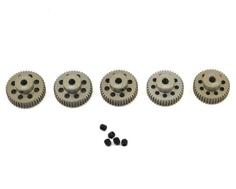 Ruddog 5-Pack 64P Aluminum Pinion Gear Pack (41,42,43,44,45T)