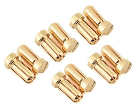 Ruddog 5mm Short Gold Male Bullet Plug (10) (10mm Long)
