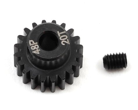 Radient 48P Steel Pinion Gear (3.17mm Bore) (20T)