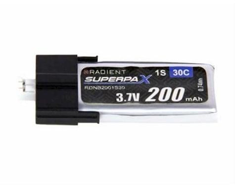 Radient 1S 30C LiPo Battery (3.7V/200mAh)