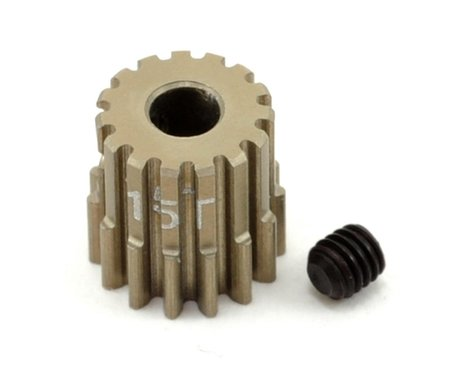 Revolution Design 48P Aluminum Hard Coated Ultra Pinion Gear (3.17mm Bore) (15T)