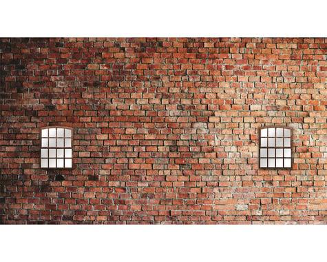 "Reefs RC LowTac Scale Garage Side Background Decal w/Window (27x15"")"