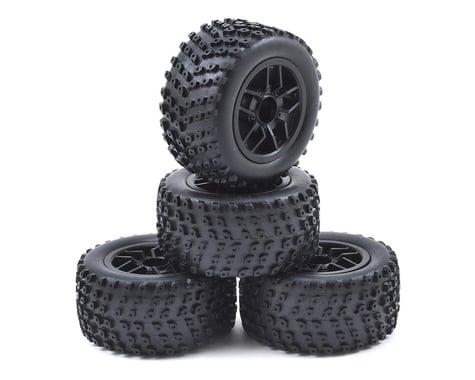 Redcat Pre-Mounted Sumo Truggy Tire (4)