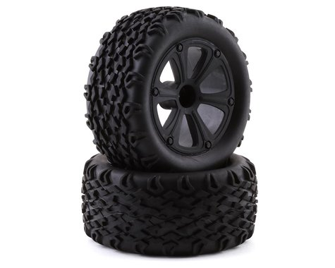 Redcat Blackout Pre-Mounted Tires (2)