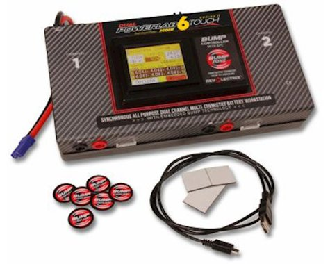 Revolectrix Dual PowerLab 6 Touch SII DC Battery Workstation (6S/40A/1000W x2)