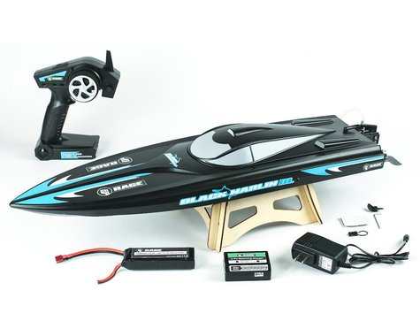 RAGE Rage RC Black Marlin Brushless RTR Boat