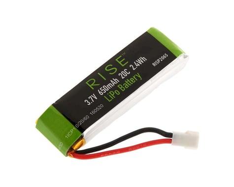 RISE LiPo 1S 3.7V 650mAh Houseracer 125