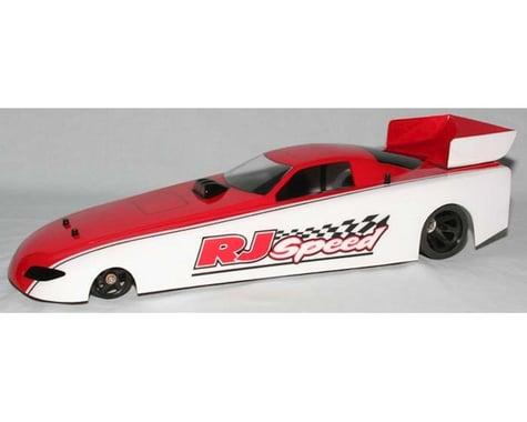 RJ Speed 13  W.B. Funny Car Body w/Wing